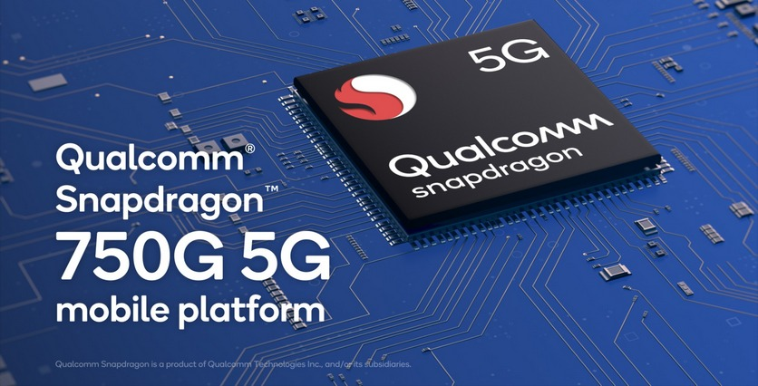 Анонсирована 5G-платформа Qualcomm Snapdragon 750G