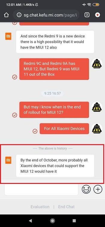 До конца октября MIUI 12 выйдет для всех смартфонов Xiaomi