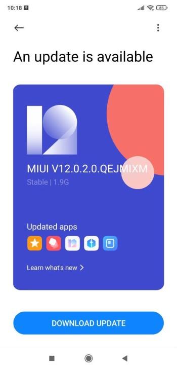 MIUI 12 для Pocophone F1 - вышла прошивка 12.0.2.0.QEJMIXM