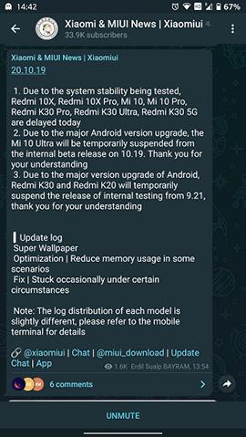 """Компания Xiaomi решила проблемы с """"суперобоями"""" в MIUI 12"""