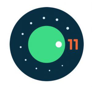 Логотип Android 11