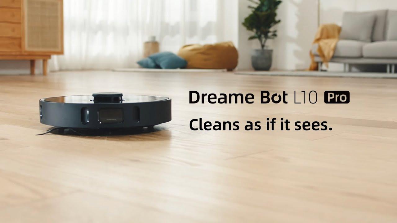 Робот-пылесос Dreame Bot L10 Pro для сухой и влажной уборки