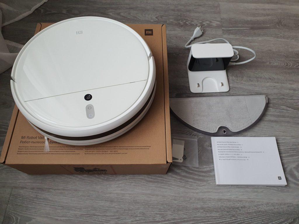 Робот-пылесос Dreame F9 Robot Vacuum - комплектация