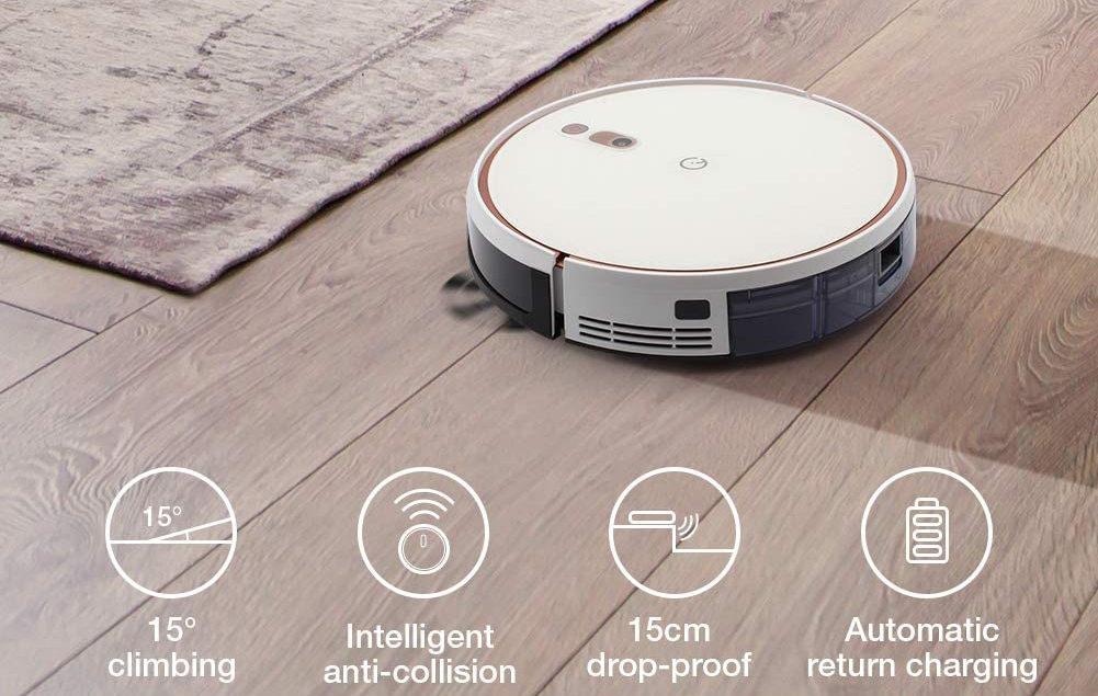Робот-пылесос Dreame F9 Robot Vacuum выполняет сухую и влажную уборку