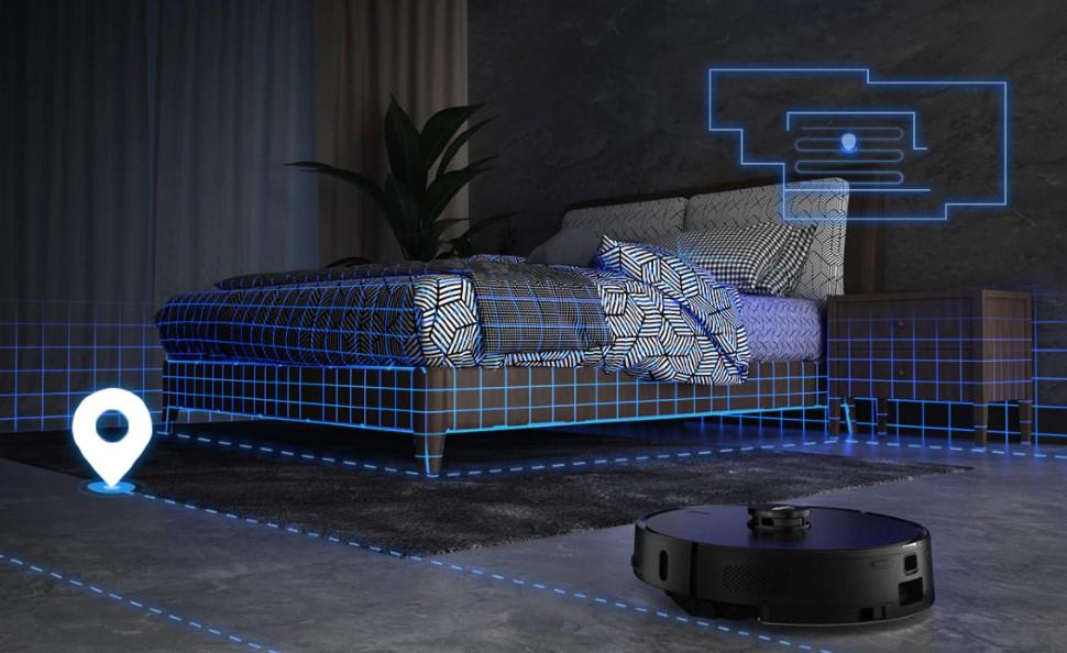 Робот-пылесос Lydsto R1 составляет карту