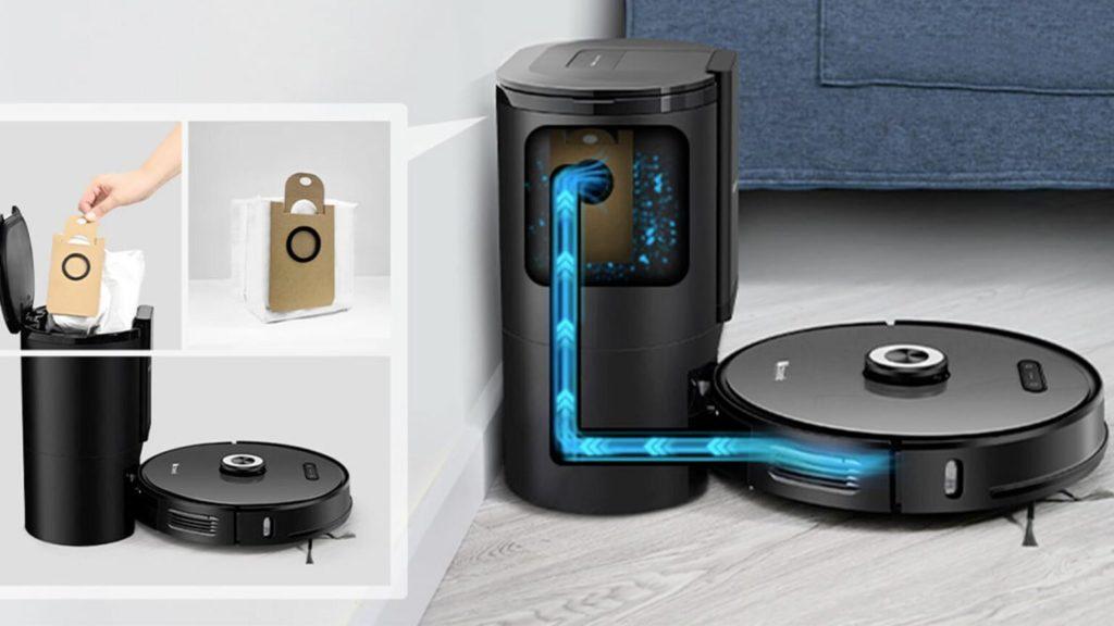Робот-пылесос Lydsto R1 с автоматической очисткой пылесборника
