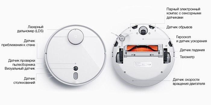Робот-пылесос Xiaomi Mi Robot 1S Sweeping Vacuum Cleaner