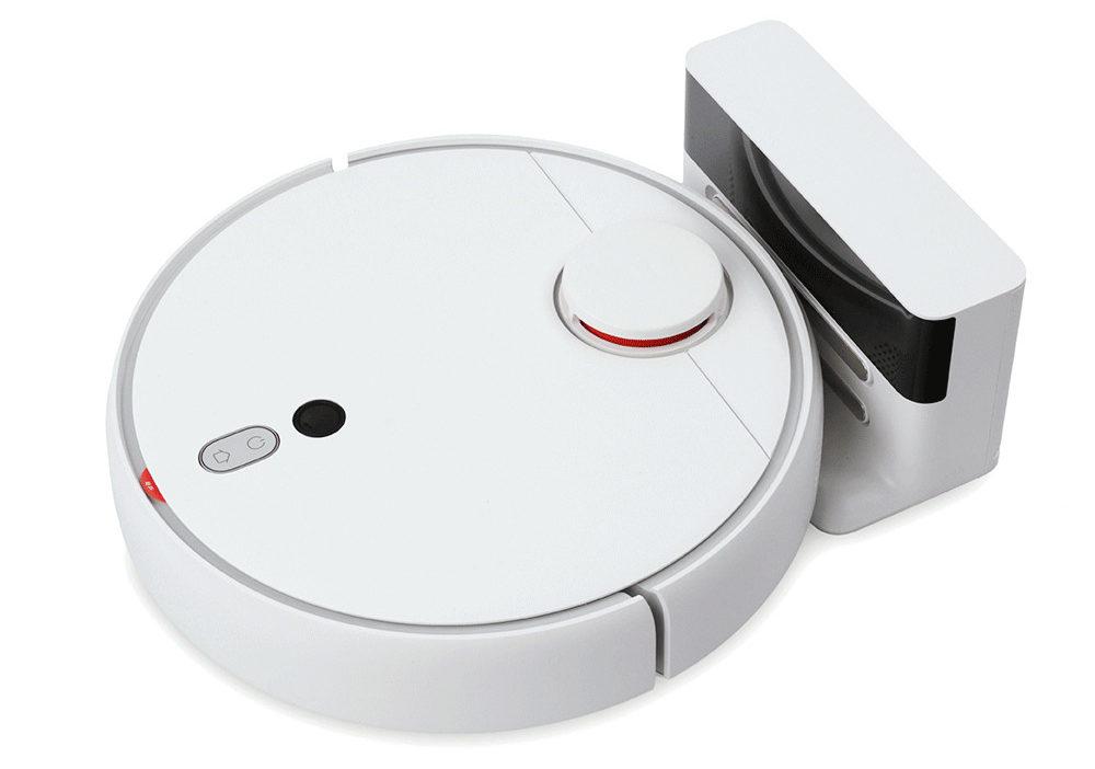 Робот-пылесос Xiaomi Mi Robot 1S Sweeping Vacuum Cleaner на подзарядке