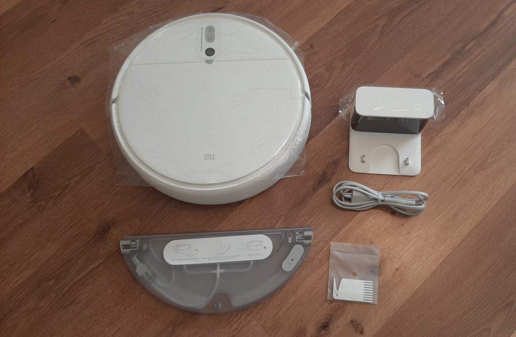 Комплектация Xiaomi Mi Robot Vacuum-Mop