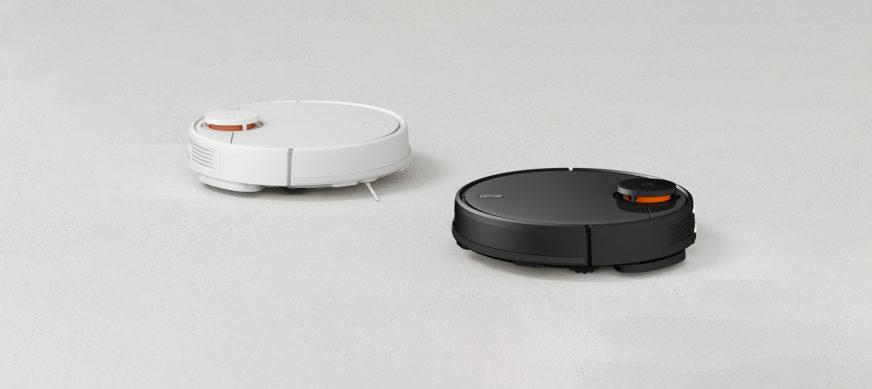 Xiaomi Mi Robot Vacuum Mop P в двух цветах