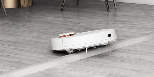Xiaomi Mi Robot Vacuum Mop P в режиме сухой уборки