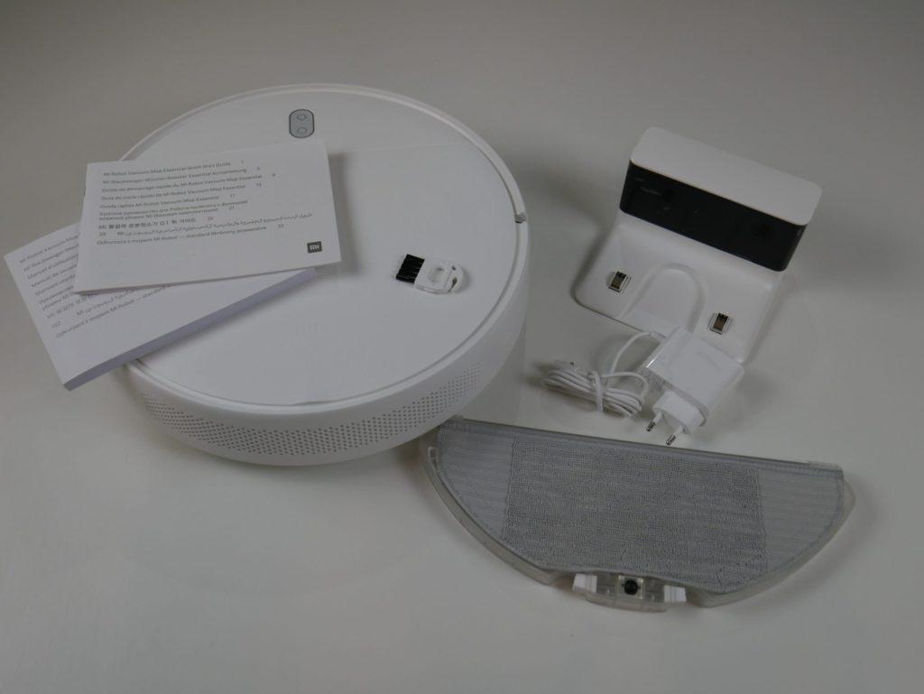 Комплектация Xiaomi Mijia G1 Sweeping Vacuum Cleaner