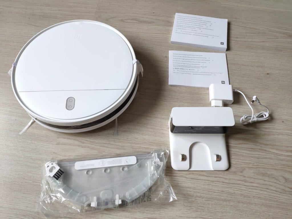 Комплектация Xiaomi Mi Robot Vacuum-Mop Essential