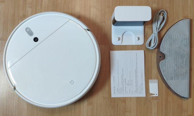 Комплектация Xiaomi Mijia 1C Sweeping Vacuum Cleaner