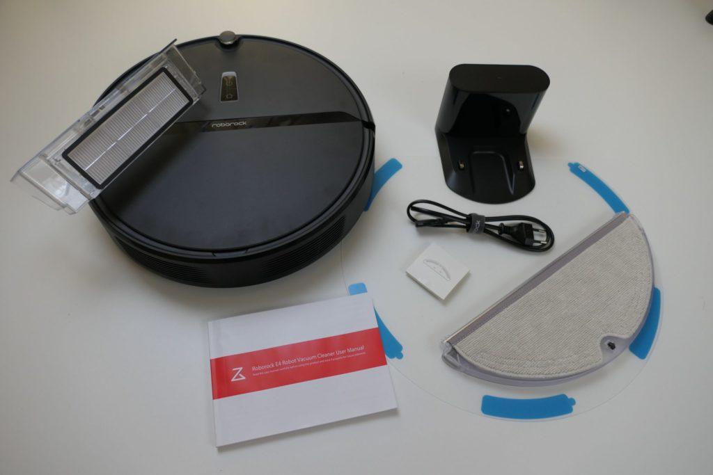Комплектация Xiaomi RoboRock E4/E452