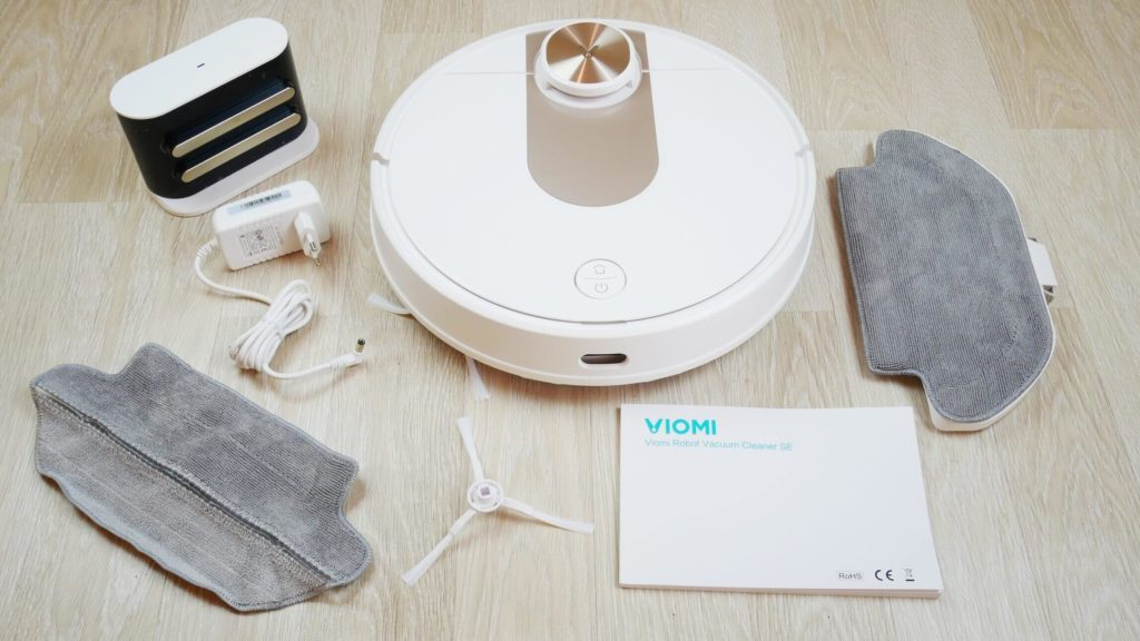 Комплектация Xiaomi Viomi SE Robot Vacuum Cleaner