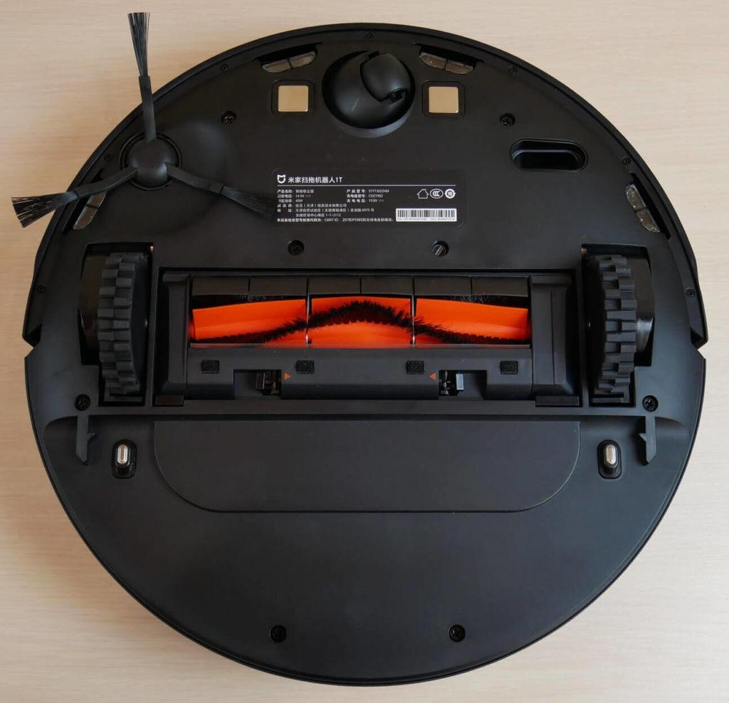 Робот-пылесос Xiaomi Mijia 1T Sweeping Robot вид снизу