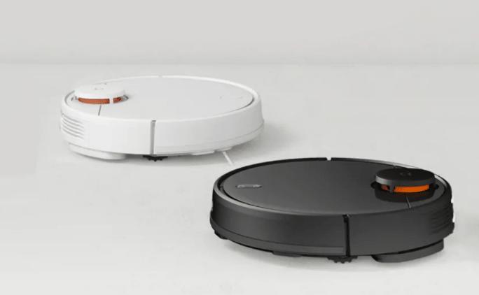 Xiaomi Mijia LDS Vacuum Cleaner в белом и черном цвете