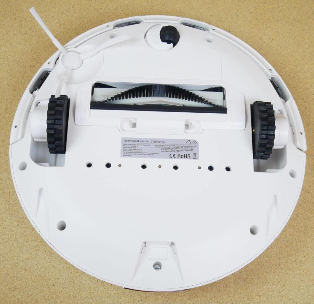 Xiaomi Viomi SE Robot Vacuum Cleaner вид снизу