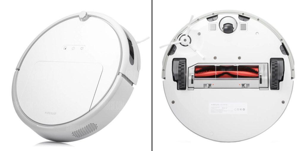 Внешний вид робот-пылесос Xiaomi Xiaowa C10/C102 Robot Vacuum Cleaner Outh Version