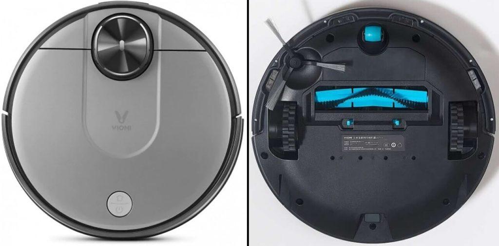 Внешний вид робот-пылесос Xiaomi Viomi V2 Pro Cleaning Robot