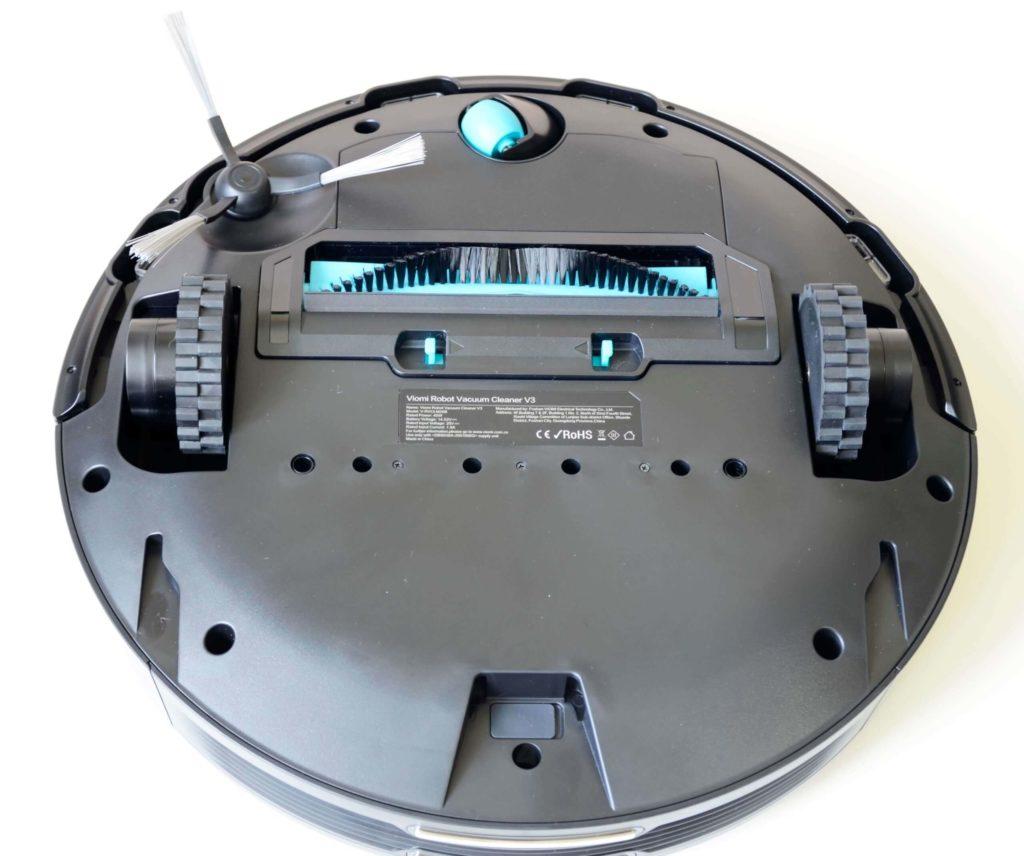 Внешний вид робот-пылесос Xiaomi Viomi V3 Robot Vacuum Cleaner
