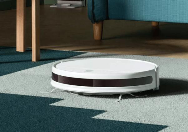 Xiaomi Mijia G1 Sweeping Vacuum Cleaner в режиме сухой уборки
