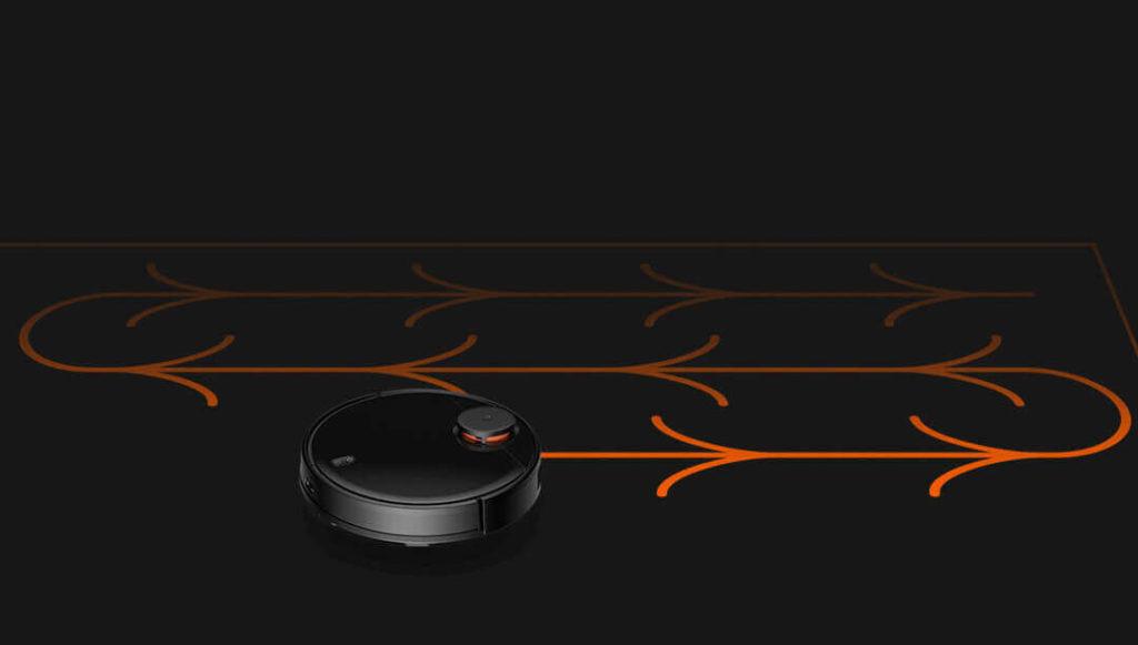 Навигация Xiaomi Mijia LDS Vacuum Cleaner