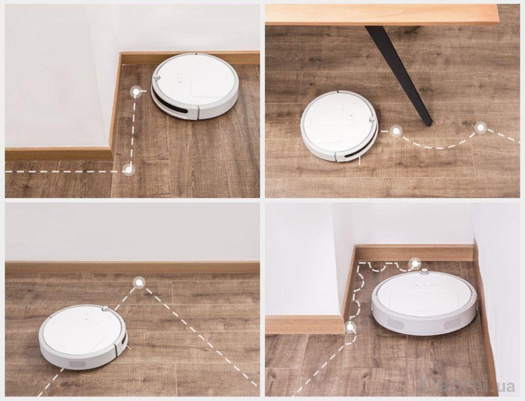 Навигация Xiaomi Xiaowa C10/C102 Robot Vacuum Cleaner Outh Version