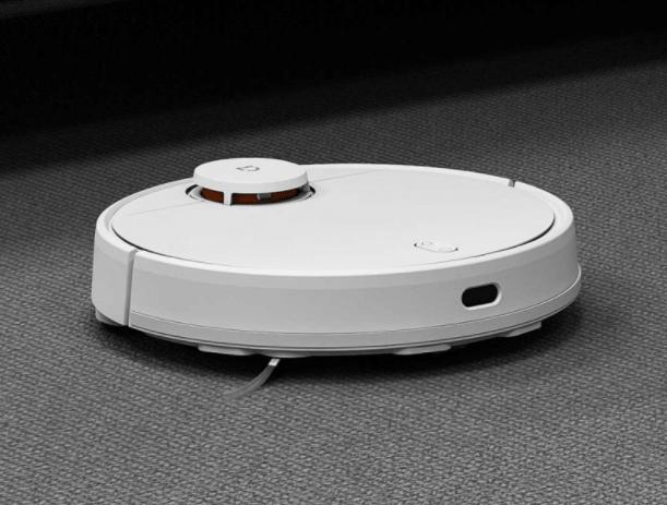 Xiaomi Mijia LDS Vacuum Cleaner в режиме сухой уборки