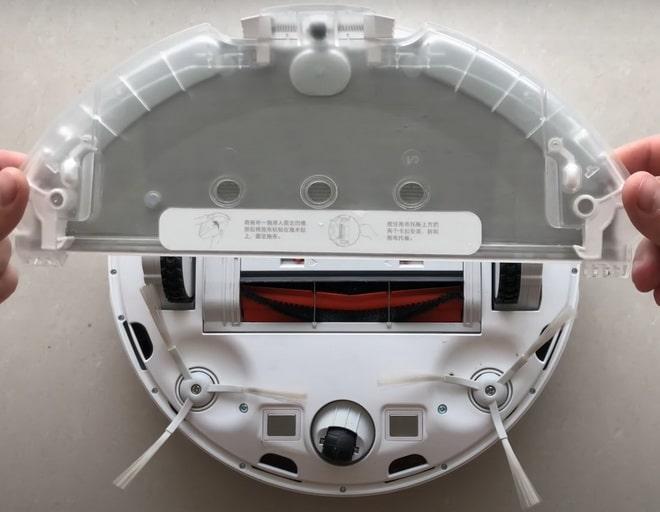 Робот-пылесос Xiaomi Mijia G1 Sweeping Vacuum Cleaner контейнер для влажной уборки