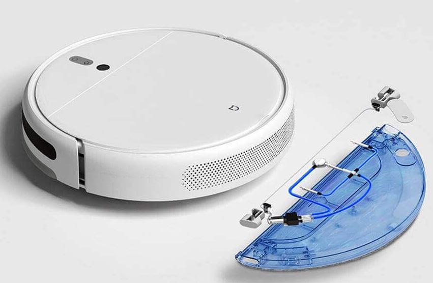 Робот-пылесос Xiaomi Mijia 1C Sweeping Vacuum Cleaner контейнер для влажной уборки
