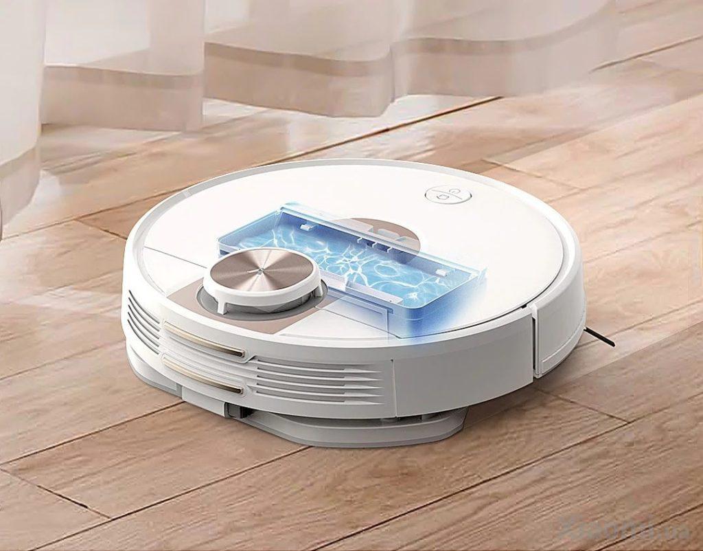 Робот-пылесос Xiaomi Viomi SE Robot Vacuum Cleaner сухая и влажная уборка