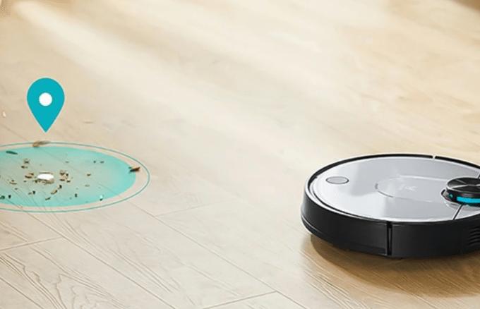 Робот-пылесос Xiaomi Viomi V2 Cleaning Robot сухая и влажная уборка