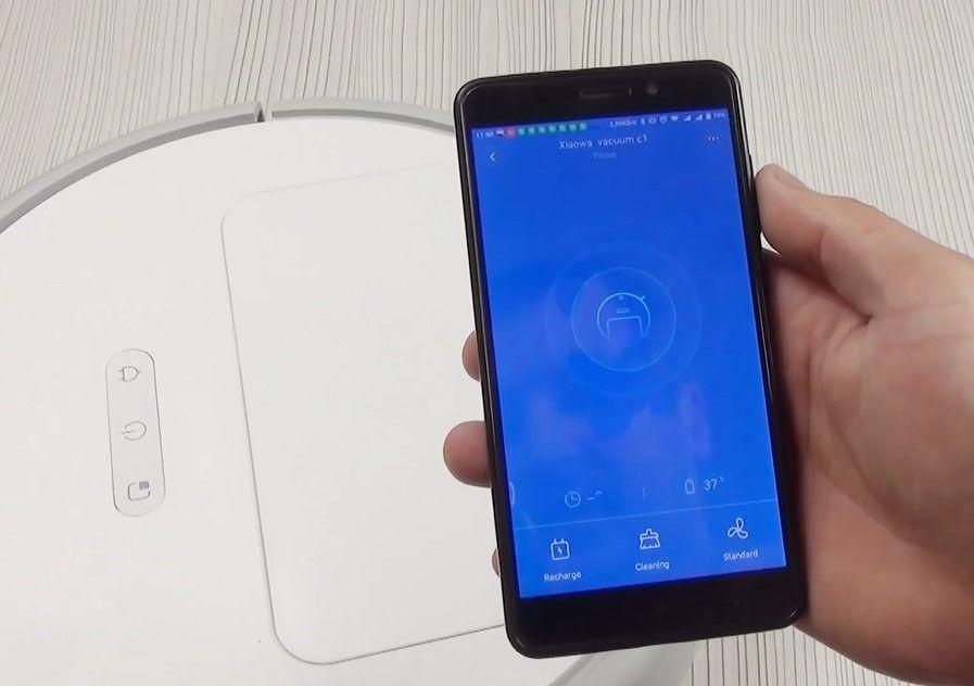 Управление Xiaomi Xiaowa C10/C102 Robot Vacuum Cleaner Outh Version