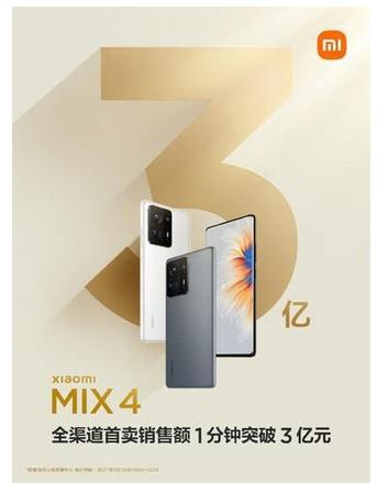 Mi Mix 4 распродали за минуту